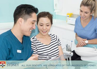 West Ryde Dental Clinic Dr Thomas Choi and Patient