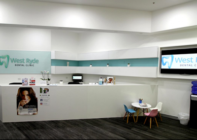 West Ryde Dental Clinic Reception