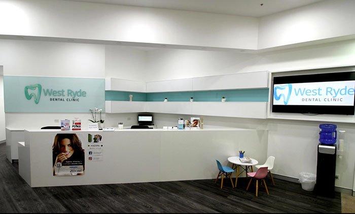 West Ryde Dental Clinic Reception | Dentist West Ryde