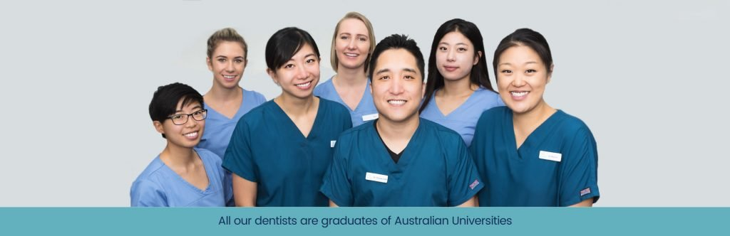 West Ryde Dental Clinic Team Photo