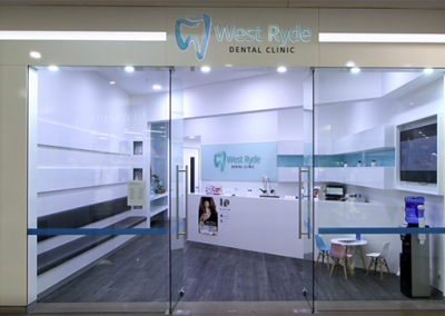 West Ryde Dental Clinic Front Area