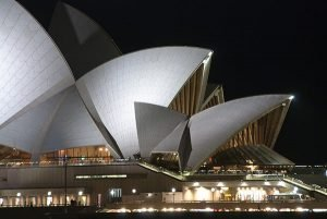 Sydney Opera by Night