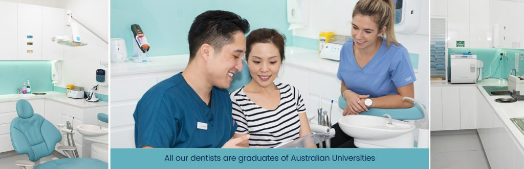 Dr Thomas Choi and Patient Dentist West Ryde