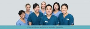 West Ryde Dental Clinic Team Photo