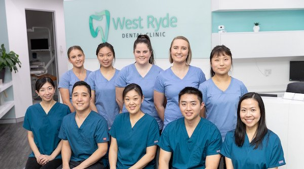 West Ryde Dental Clinic Front Desk
